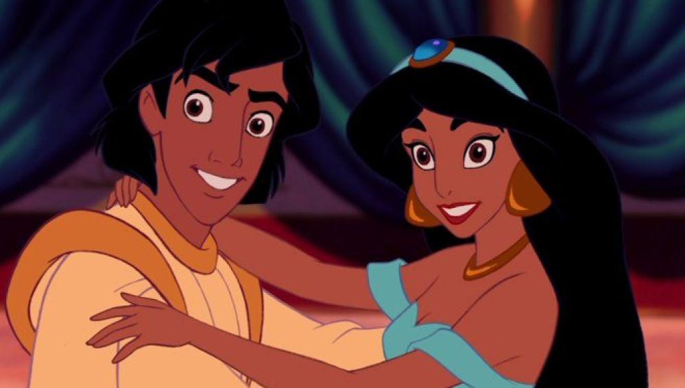 Aladdin y Jasmine
