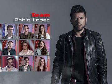 Vídeo: Pablo López ha cerrado su equipo en 'La Voz'