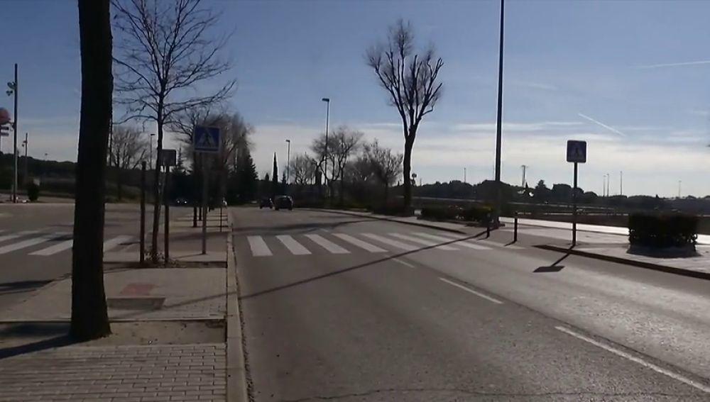 La Policía pide ayuda para encontrar al conductor de un Ford Focus gris que atropelló a una mujer en el la localidad madrileña de Las Rozas