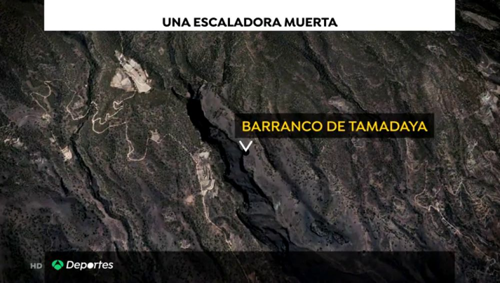 Una mujer muere mientras practicaba escalada en el Barranco de Tamadaya, Tenerife