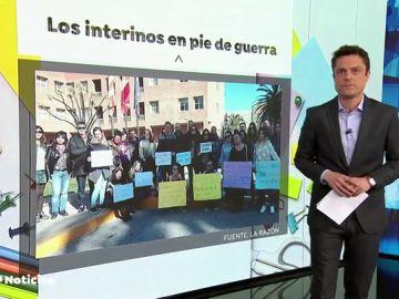 REEMPLAZO | Profesores interinos denuncian que llevan meses sin cobrar