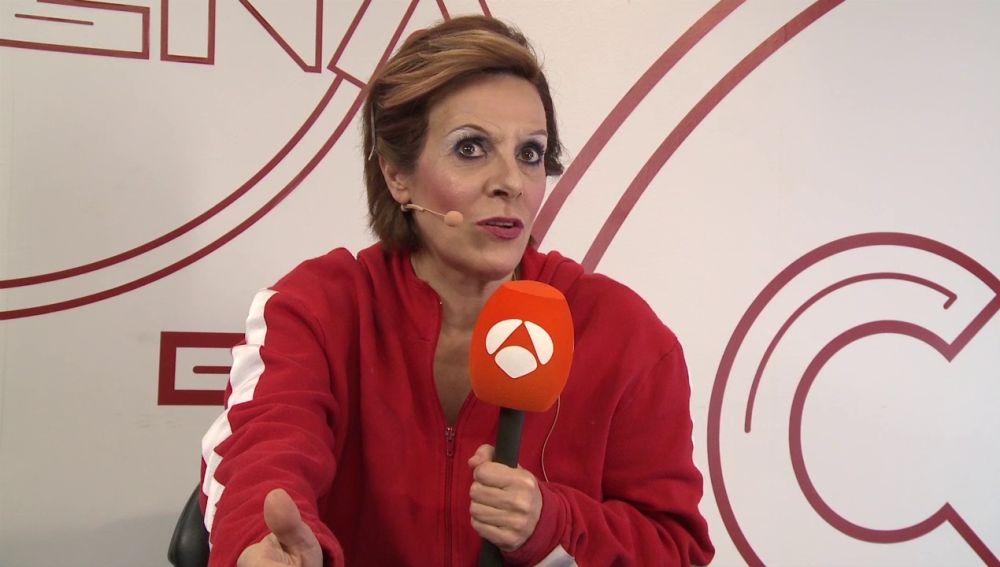 """Anabel Alonso: """"Compaginar 'Amar es para siempre' con 'Tu cara me suena' ha sido una locura a todo nivel"""""""