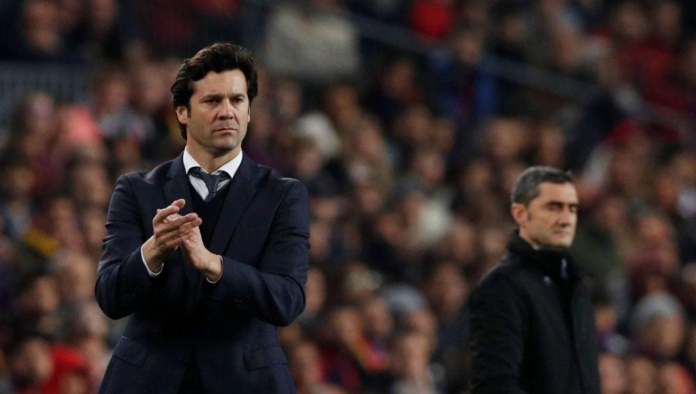 Solari y Valverde en El Clásico de Copa del Rey