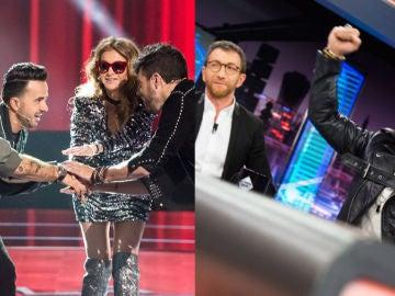 Nuevo liderazgo para 'La Voz', y 'El Hormiguero 3.0', el programa más visto de TV
