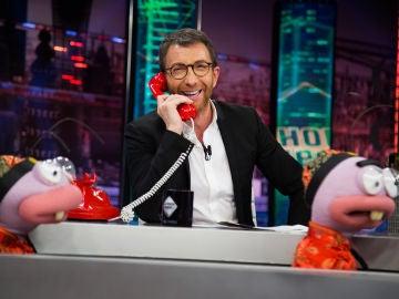 """Pablo Motos, sorprendido con Karlos Arguiñano: """"Comí un plato de huevos de hormiga"""""""