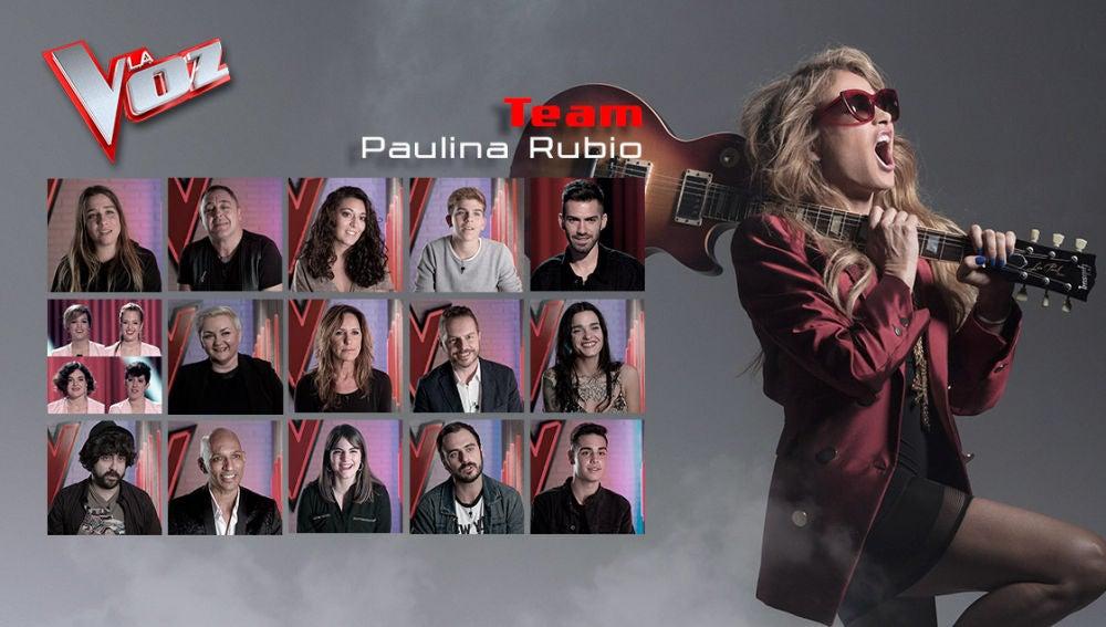 VÍDEO: Paulina Rubio ha cerrado su equipo en 'La Voz': así es el resumen de sus 'Audiciones a ciegas'