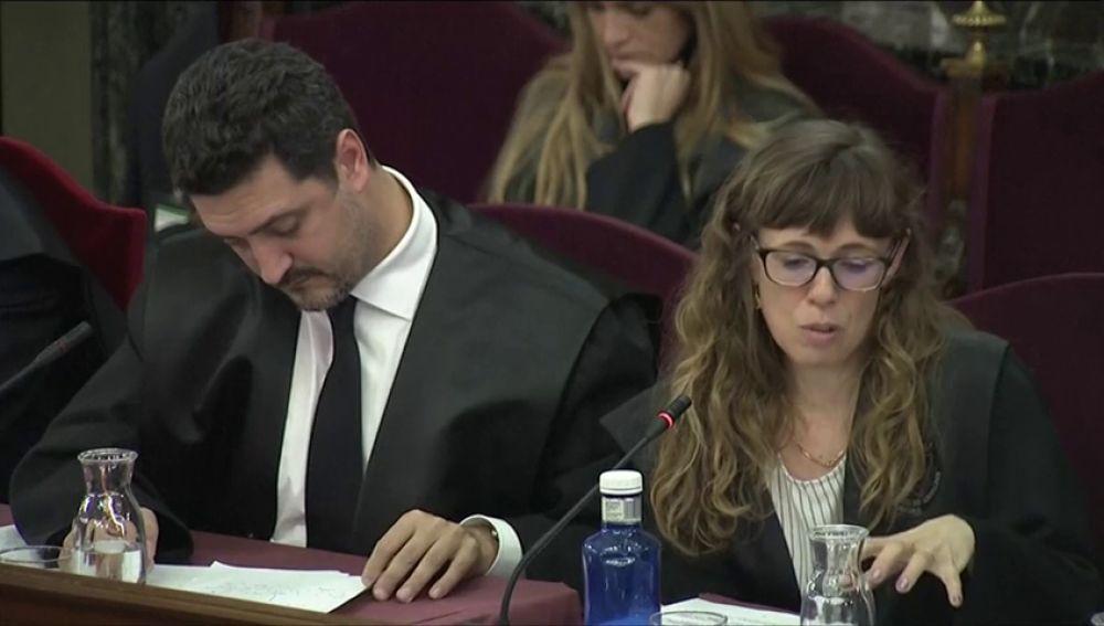 La abogada de Forcadell pide que su defendida quede fuera del juicio porque le protegía la  inviolabilidad parlamentaria