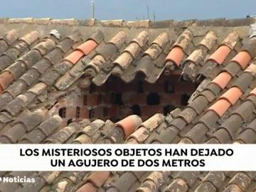 Tres objetos luminosos cayendo del cielo asustan a los vecinos Cogollos de Guadix, en Granada