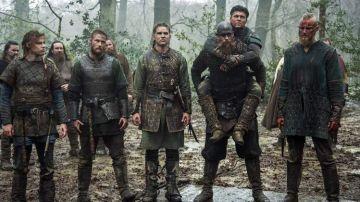 Protagonistas de 'Vikingos'