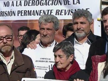 Los padres de Mari Luz Cortés, de Marta del Castillo o Diana Quer, continúan la lucha por la prisión permanente revisable