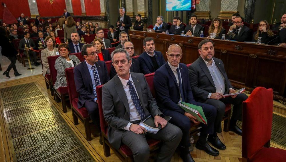 Los doce líderes independentistas acusados por el proceso soberanista catalán