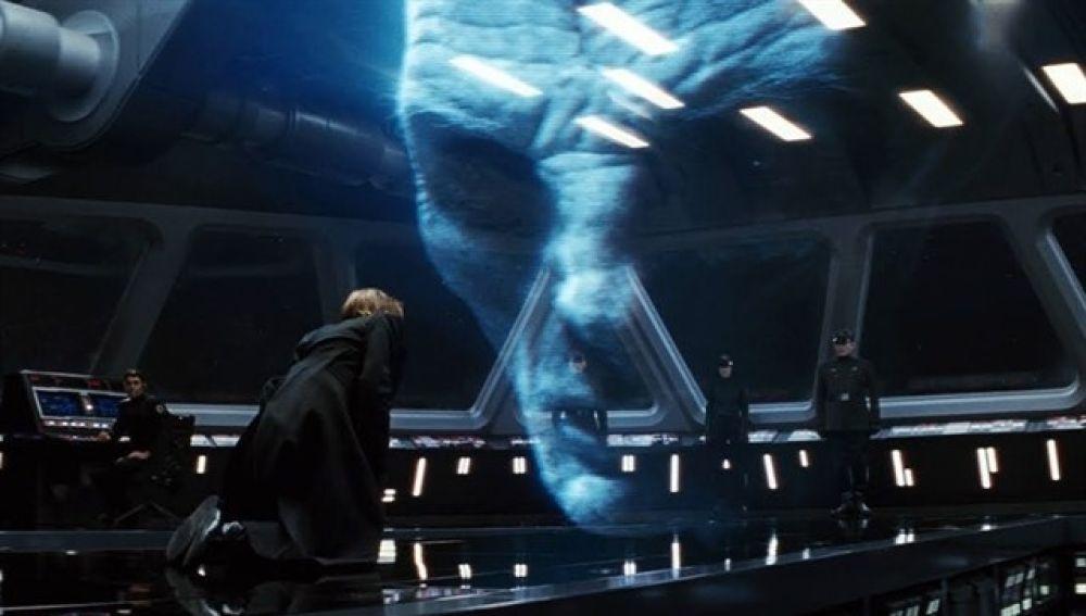 El fotograma en el que estaría escondido Darth Vader