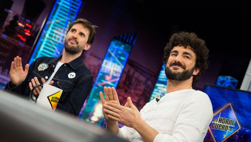 El código entre Julián López y Miki Esparbé para hablar entre dientes