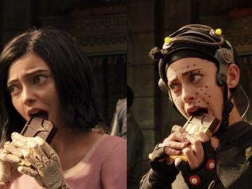Rosa Salazar en 'Alita: Ángel de combate'
