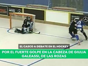 """El brutal golpe de Giulia Galeassi reabre el debate sobre el uso del casco en el hockey: """"Se evitarían los incidentes"""""""