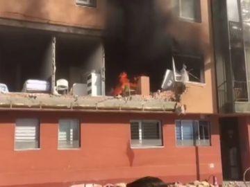 Muere una persona en una explosión de gas en una vivienda de Burgos
