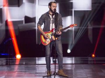 Vídeo: Rosco canta 'Come together' en las 'Audiciones a ciegas'