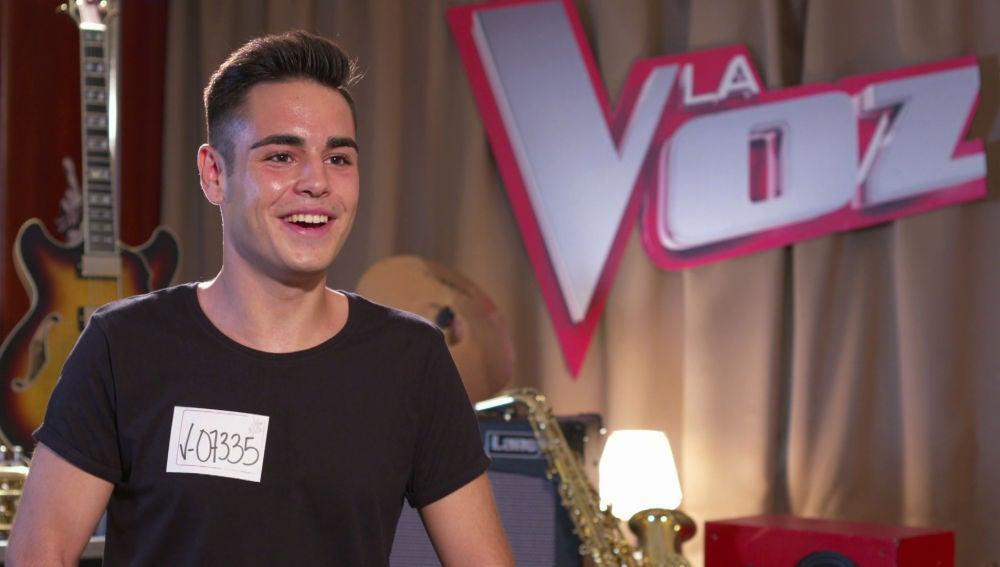 """Juanjo García, el talent de 'La Voz Kids' que vuelve a 'La Voz': """"Si se gira alguien, de un bote de alegría voy a llegar a Almería"""""""