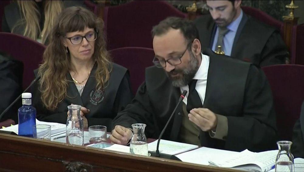 Abogado de Cuixart: juicio es una derrota colectiva de la sociedad española