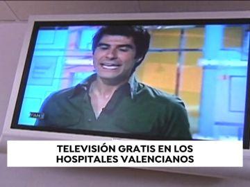 Los pacientes dejarán de pagar por ver la televisión en los hospitales públicos valencianos