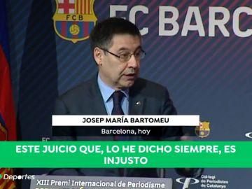 """El Barcelona llama """"presos políticos"""" a los independentistas encarcelados y tacha de """"injusto"""" el juicio al 'procés'"""