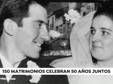 REEMPLAZO Medio siglo de amor: 150 matrimonios de Zaragoza celebran 50 años de casados
