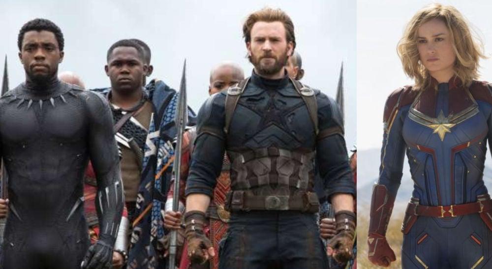 Los Vengadores y Capitana Marvel