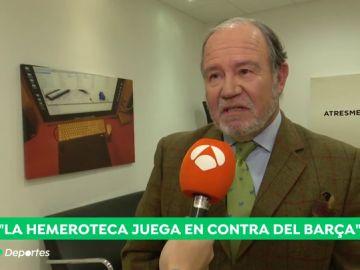 """La Fundación Francisco Franco contesta al Barça: """"Se retratan como unos cobardes, ¿por qué no lo hicieron cuando estaba vivo?"""""""