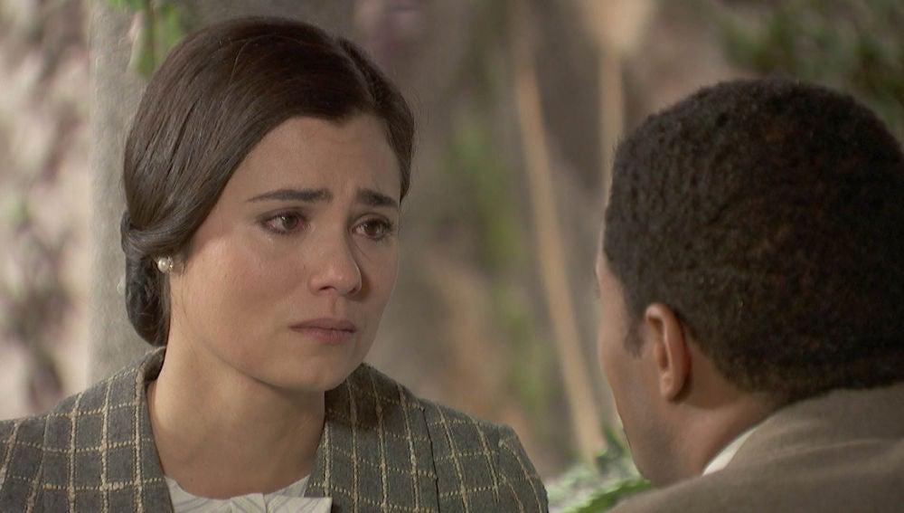 """María, con un gran dolor: """"Gonzalo es el amor de mi vida"""""""