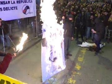 Las imágenes de las manifestaciones en Cataluña en contra del juicio al 'procés'
