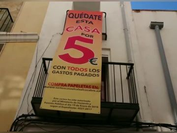 Sortean una casa en Castellón por cinco euros y donan el dinero para luchar contra el cáncer infantil