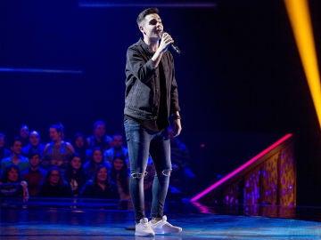 Juanjo García canta 'Y ahora' en las 'Audiciones a ciegas' de 'La Voz'
