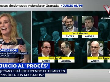 """El estado de ánimo de los acusados: """"El que mejor lo lleva es Romeva y el más abatido es Jordi Sánchez"""""""