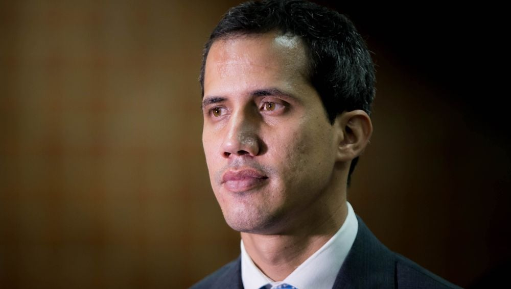 El jefe del Parlamento de Venezuela, Juan Guaidó