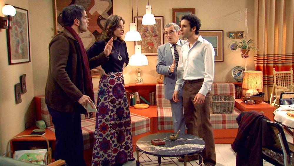 El padre de Joselito se enfrenta a María e Ignacio para llevarse a su hijo