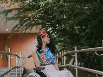 Layane Dias, la joven que ha quedado parapléjica