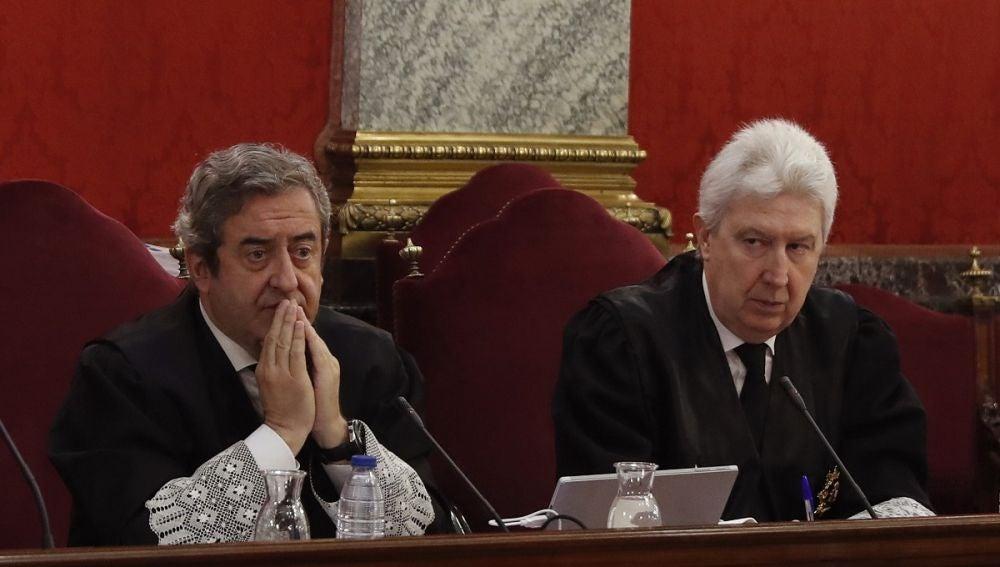 Los fiscales Fidel Cadena y Javier Zaragoza