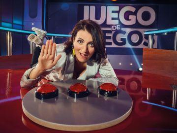 Silvia Abril presenta 'Juego de Juegos'