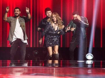 'La Voz' termina su fase de Audiciones a Ciegas