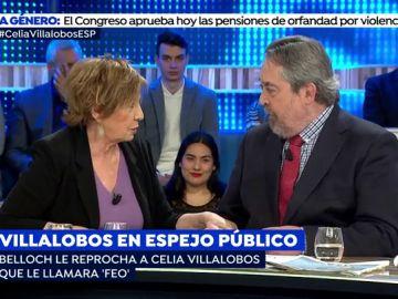Alberto Belloch y Celia Villalobos.