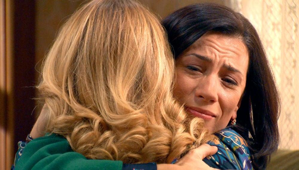 """La emotiva reconciliación de Manolita con su hija: """"Siempre voy a estar a tu lado"""""""