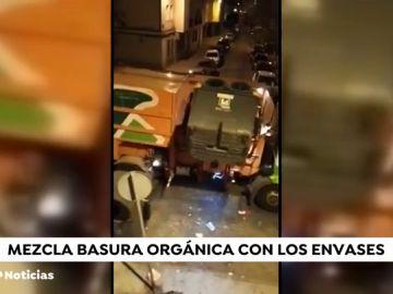 Mezclan basura orgánica con envases: así se recicla en Córdoba