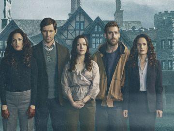 Los protagonistas de 'La Maldición de Hill House'