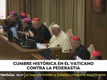 Cumbre histórica contra la pederastia en el Vaticano.