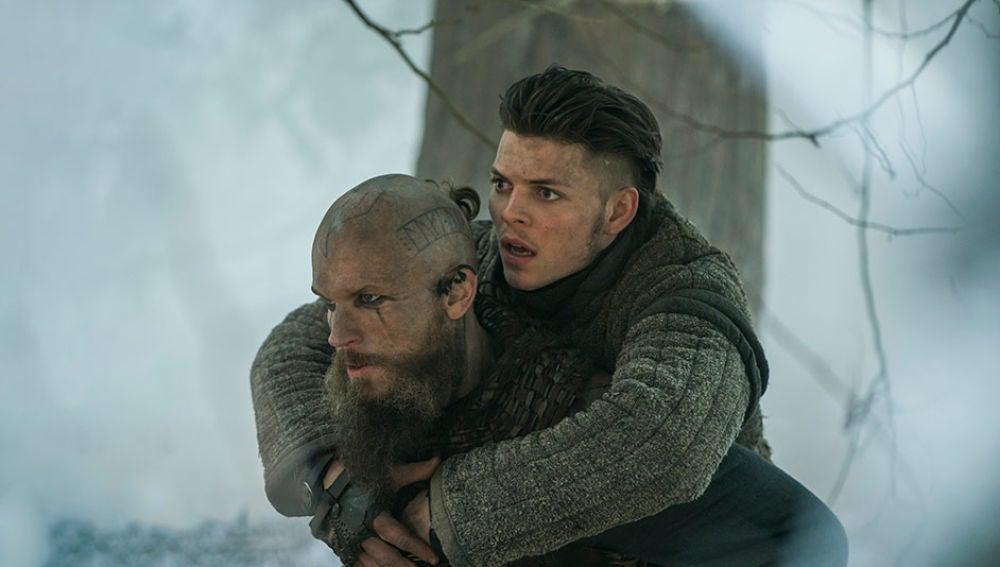 Ivar, Sin Huesos, de 'Vikingos'