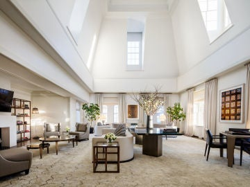 La suite donde se celebró la fiesta