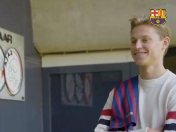 Frenkie de Jong, nuevo jugador del Barcelona