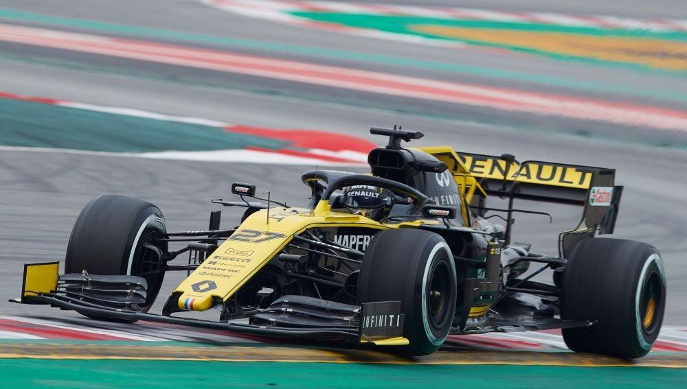 Nico Hulkenberg, a los mandos del Renault