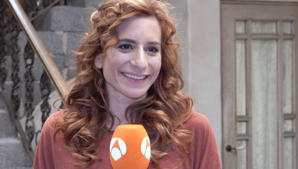 """Marta Tomasa: """"El personaje de Fe me ha dado la vida"""""""