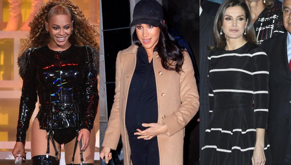 Beyoncé, Meghan Markle y Letizia